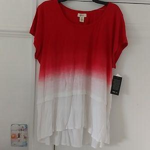 Style & Co XXL Tye dye Shirt